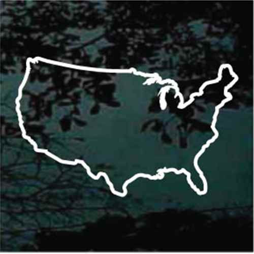 United States Of America USA Outline