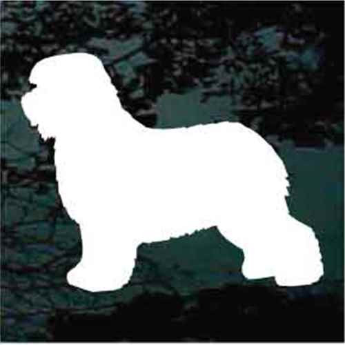 Old English Sheepdog Silhouette Decals