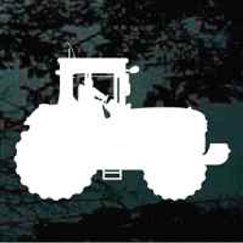 Farming Tractor Silhouette