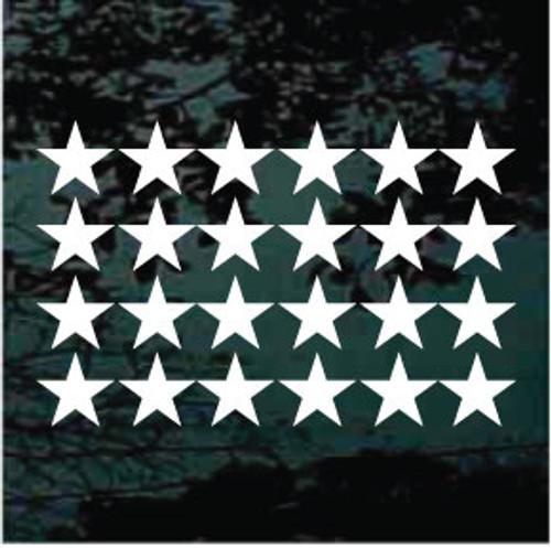 Vinyl Stars Set of 24 - 3''