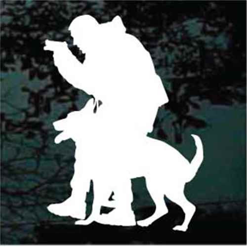Police Service Dog Window Decal