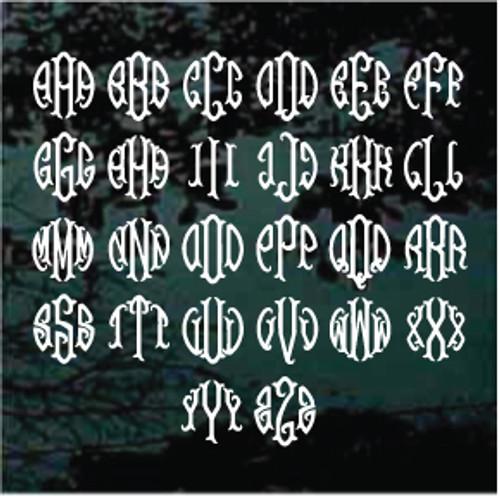 Fish Tail Monogram