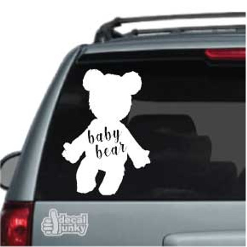 Baby Bear Teddy Bear Car Decals
