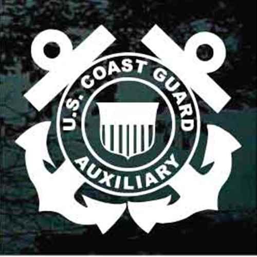Coast Guard Auxiliary Window Decals