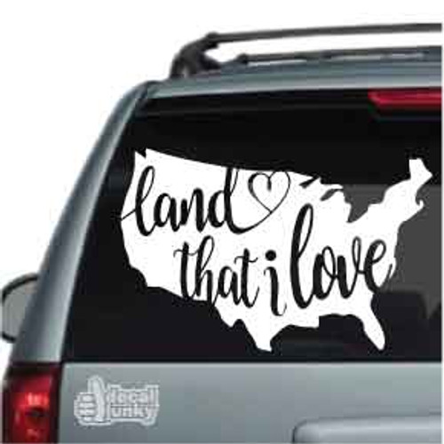 Land That I Love USA Stickers