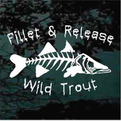 Custom Fillet & Release Wild Trout