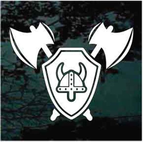 Viking Logo Window Decal