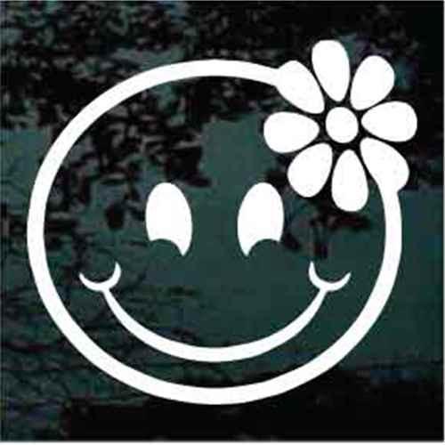 Smiley Face Daisy Flower