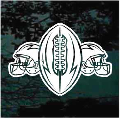 Football & Football Helmets Decals
