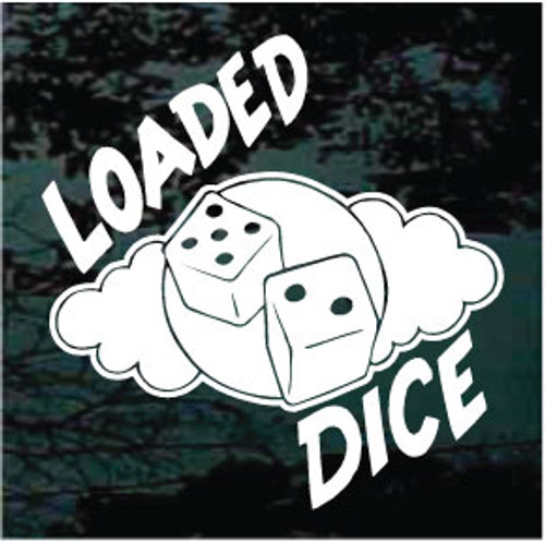 Loaded Dice Decals