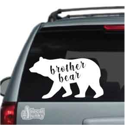 Brother Bear Car Decals