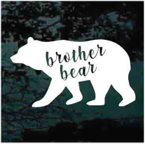 Brother Bear Window Decal