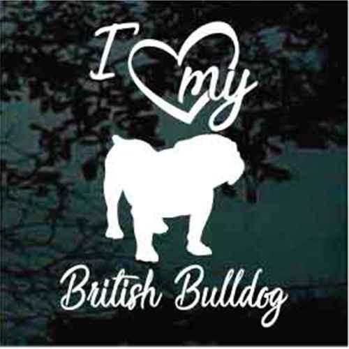 I Love My British Bulldog