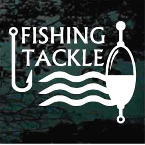 Fishing Tackle Sign Decals
