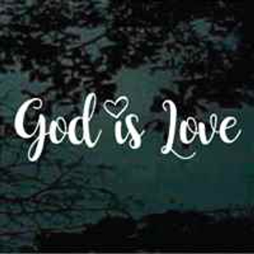 God Is Love Decals
