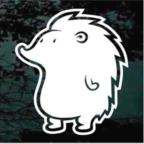 Fat Hedgehog Cartoon