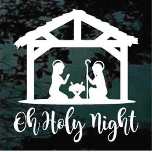 Nativity Scene Oh Holy Night