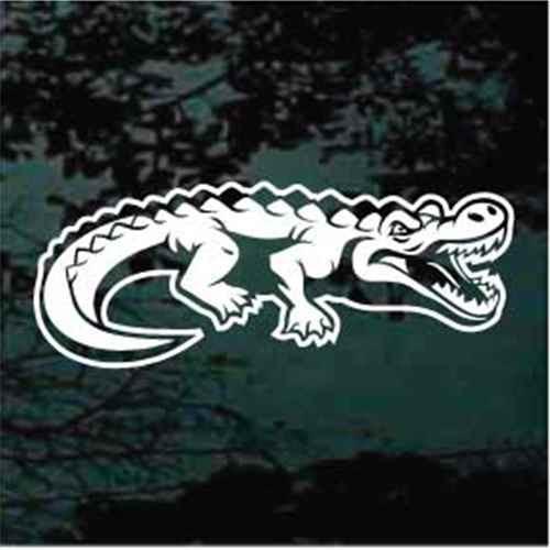 Crocodile Window Decal