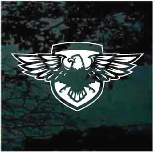 Eagle Emblem Shield Window Decals