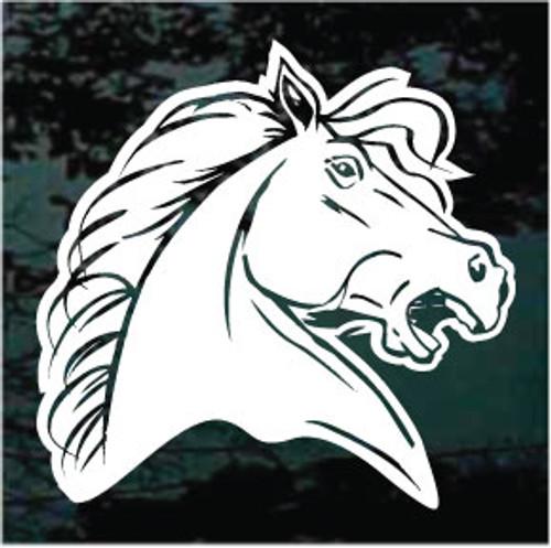 Mustang Horse Head 01
