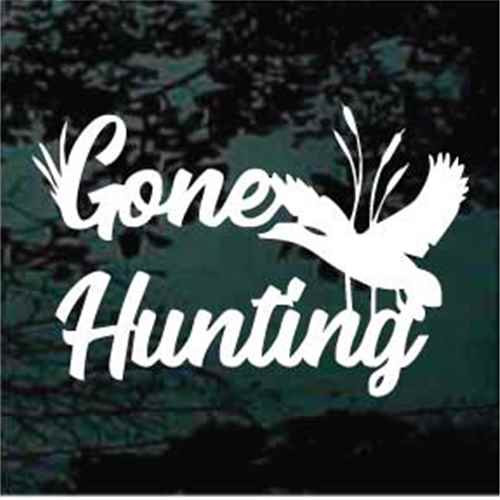 Gone Hunting Duck Hunting