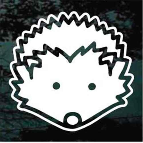 Hedgehog Icon Window Decals