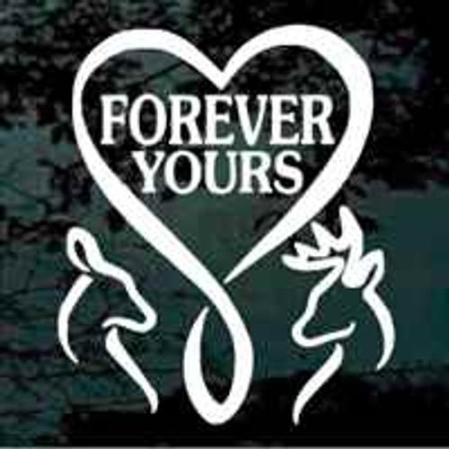 Forever Yours Deer Heart