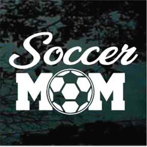Script Soccer Mom Decals