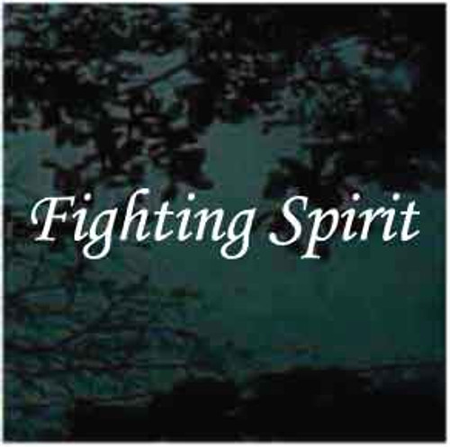 Fighting Spirit Custom Decal