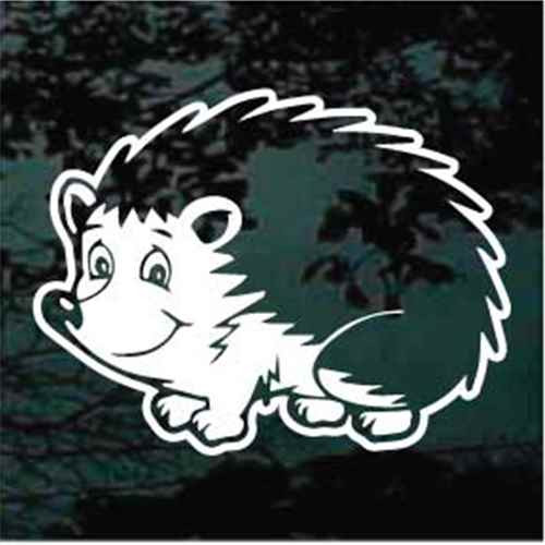 Happy Hedgehog Cartoon