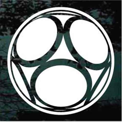 Circles Soccer Ball Decals