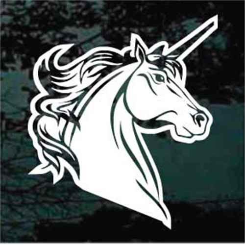 Majestic Unicorn Head