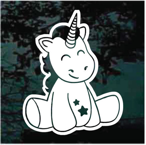 Baby Unicorn Decals