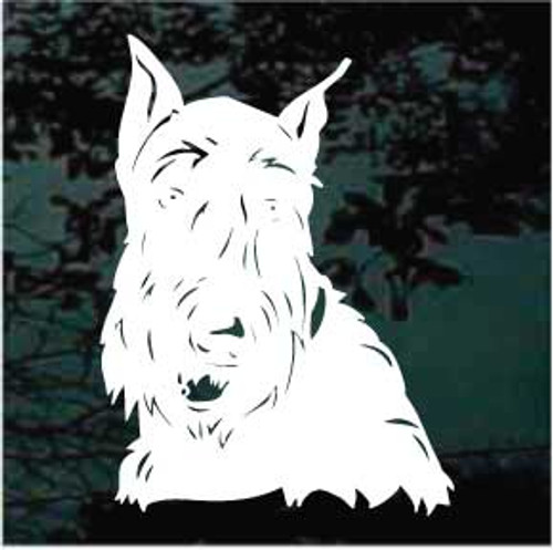Scottish Terrier 02 Window Decal