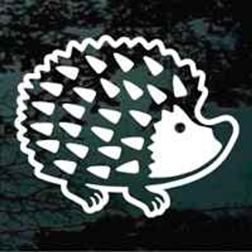 Cute Hedgehog Window Decals