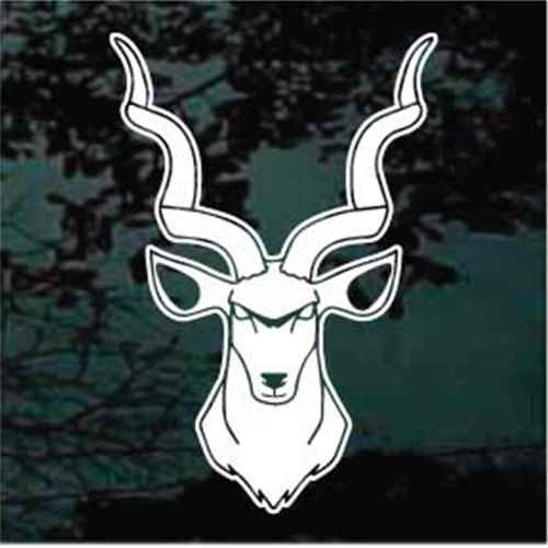 African Kudu Window Decals