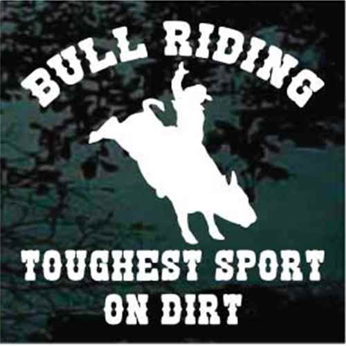 Bull Riding Toughest Sport On Dirt