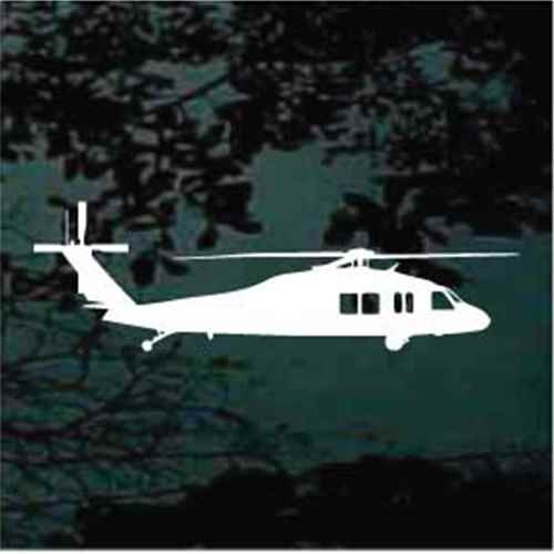UH-60 Blackhawk Helicopter Decals