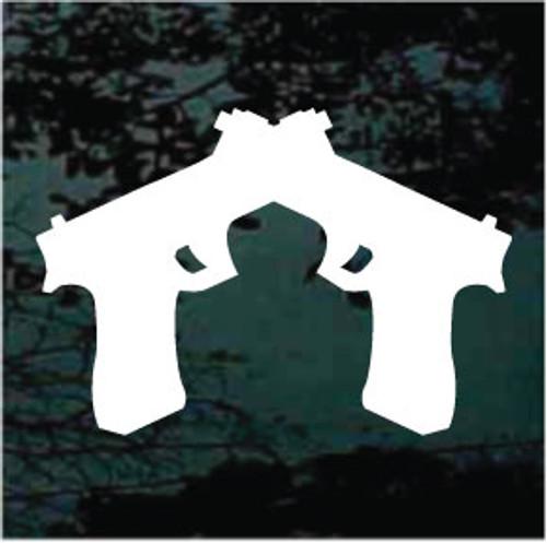 Pistols Crossed