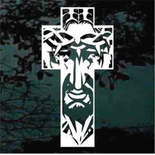 Jesus Crown Of Thorns Cross