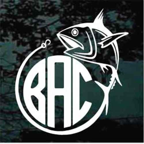 Tuna Fish Monogram