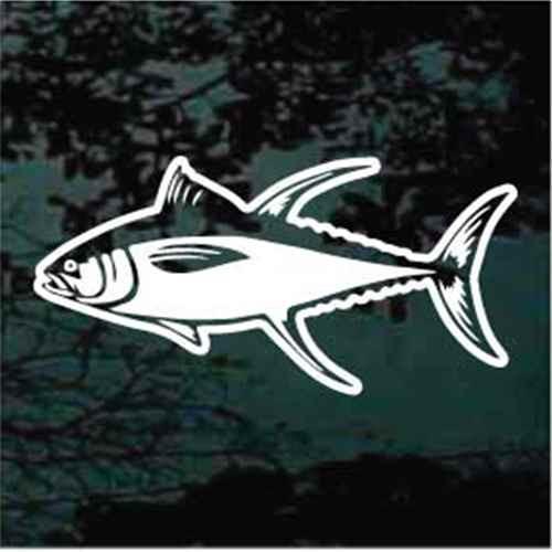 Bluefin Tuna Decals