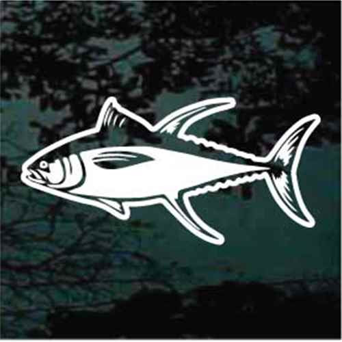 Bluefin Tuna Window Decals