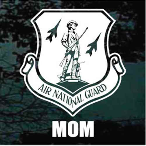 Air National Guard Family Window Decal