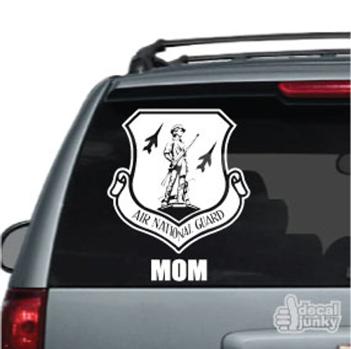 Air National Guard Family Car Decal