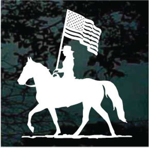USA Rodeo Equestrian Drill Team Decals