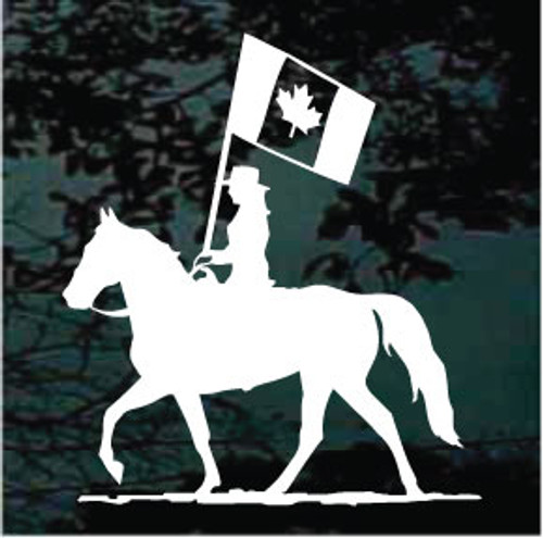 Canadian Rodeo Equestrian Drill Team Decals