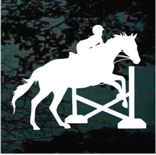Child Horse Jumping Decals