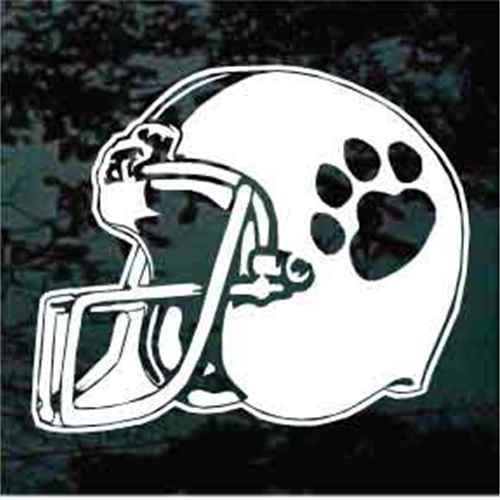 Wildcats Football Helmet Decals