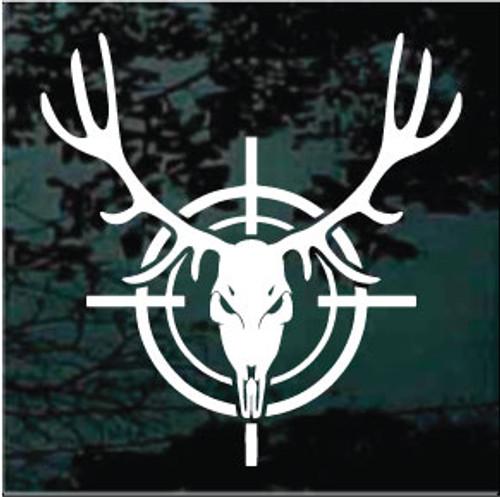 Deer Skull In Target Decals